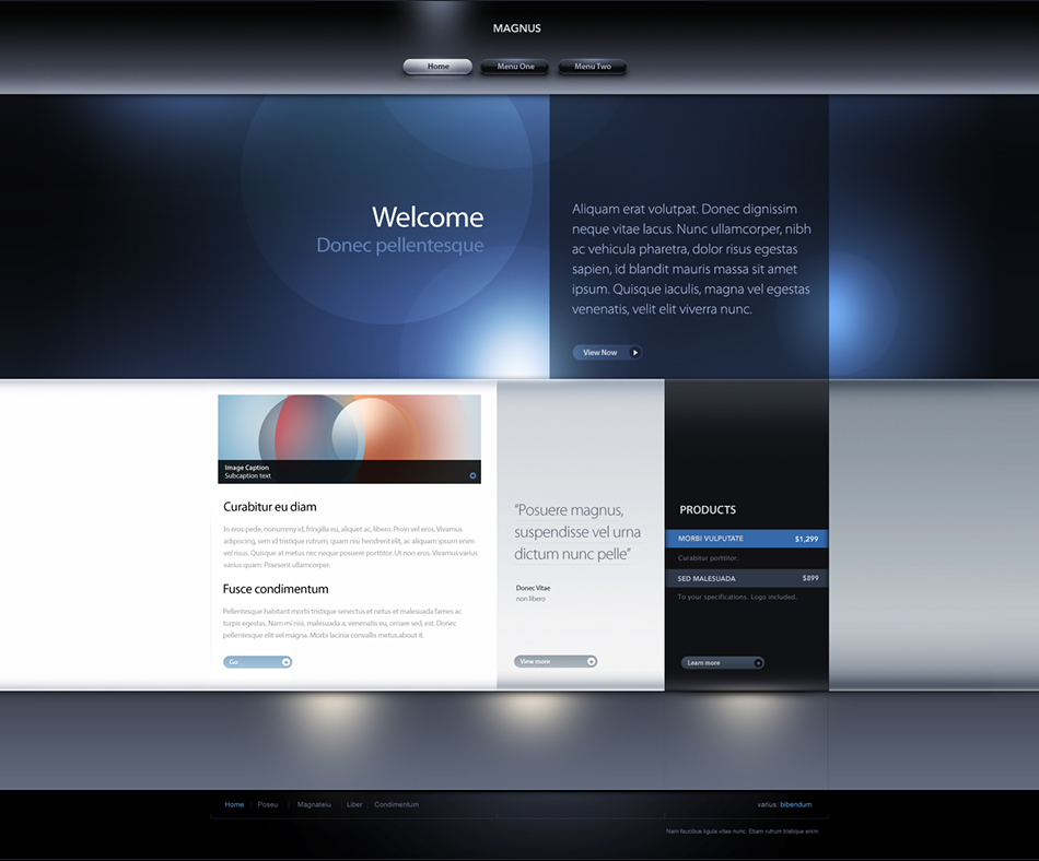 web pages templates